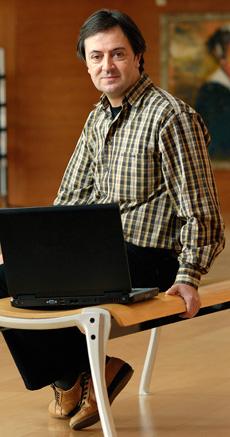 Jorge Flores, director de PantallasAmigas (Foto: Eroski - Consumer)