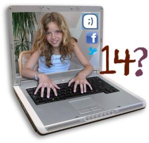 Tu hija de 12 años... ¿Cuántos dice que tiene en Internet?