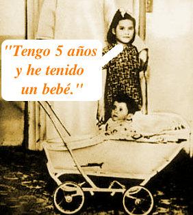 Lina Medina, la mamá más joven nunca registrada