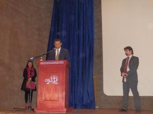 Francisco Mena Corona - Comisionado Presidente del CAIPTLAX - presenta a Urko Fernandez - directos de proyectos de PantallasAmigas