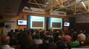 Urko Fernandez de PantallasAmigas durante el curso de Tecnologías del Aprendizaje y la Comunicación en las Aulas